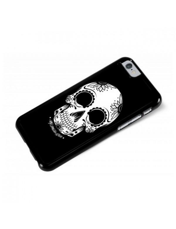 Coque iPhone 6/6S - Tête de mort - Flores de la Muerte.