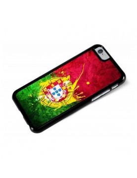Coque iPhone 6/6S - Drapeau Portugal Grunge