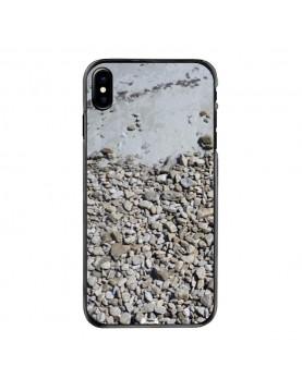 Coque iPhone X/XS - Motif cailloux de Bretagne
