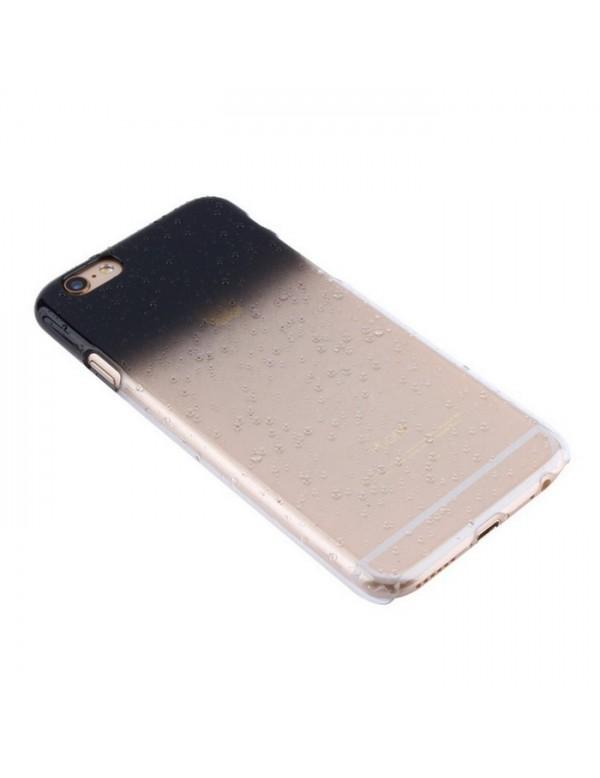 Coque rigide iphone 6/6S - Effet 3d goutte de pluie noir