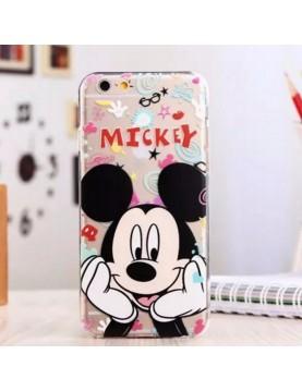 Coque souple iPhone 6/6S - Mickey