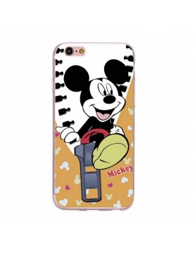 Coque silicone iPhone 6/6S - Mickey joyeux