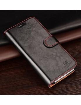 Étui portefeuille iPhone X avec support voiture-face