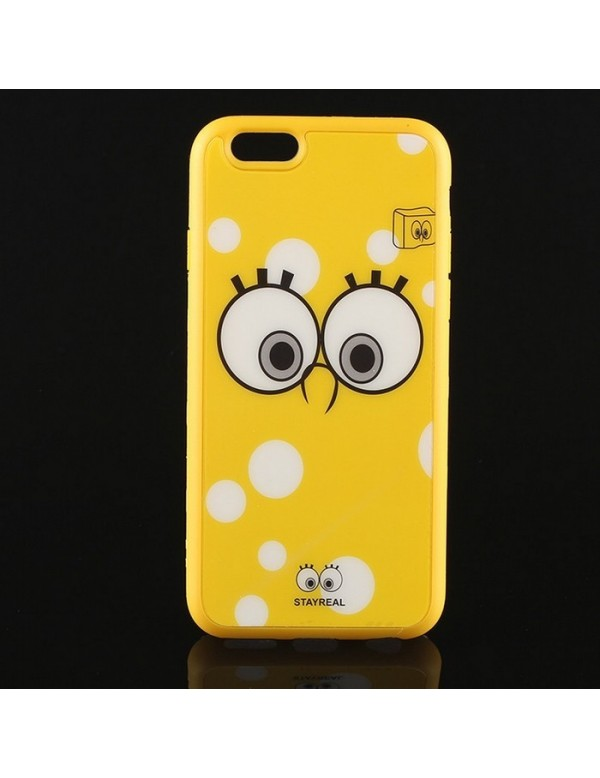 Coque silicone iPhone 6/6S - Bob l'éponge