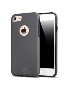 Coque Mylow Design iPhone 6-plus-6S-plus-360°-Gris sidéral