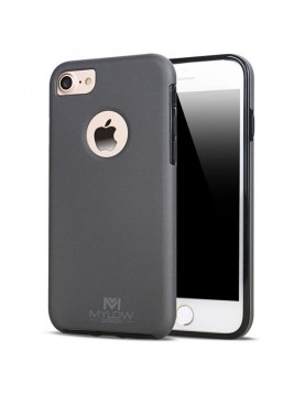 Coque Mylow Design iPhone 7-Plus-8-Plus-360°-Gris sidéral