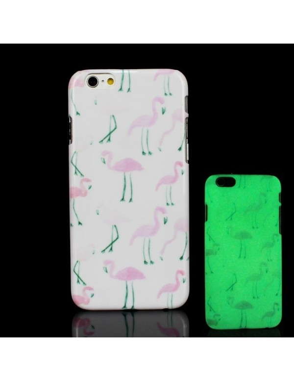 Coque fluo iPhone 6/6S -  Flamant rose