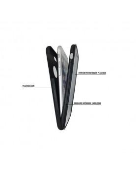 Coque Mylow Design iPhone 5/5S, SE - 360° - Noir