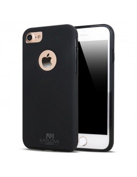 Coque Mylow Design iPhone 7 Plus/8 Plus - 360° - Noir