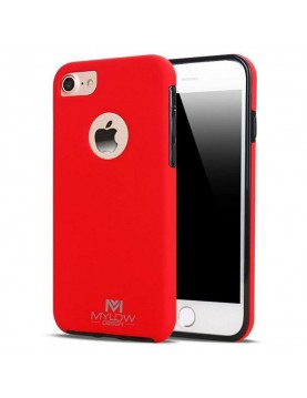 Coque Mylow Design iPhone 7 Plus/8 Plus - 360° - Rouge