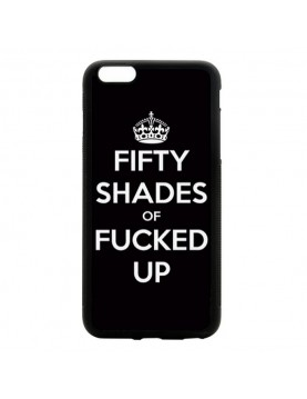Coque rigide iPhone 6/6S - Fifty shades of Fucked up