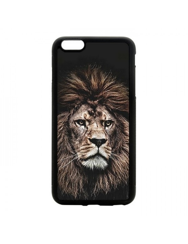 Coque rigide iPhone 6/6S -The king lion