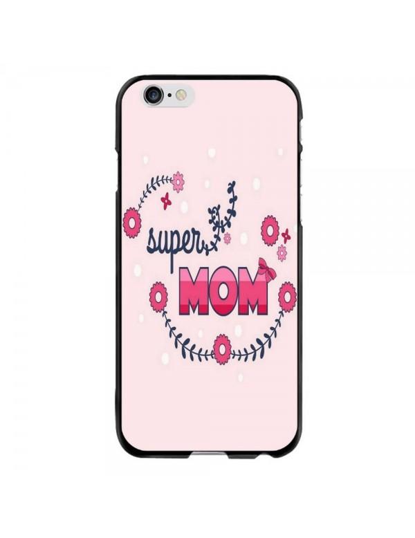 Coque Rigide iPhone 6 PLUS/6S PLUS - Super Mom Rose