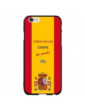 Coque-iPhone-6-6S- J'peux-pas-j'ai-coupe-du-monde-2018-Espagne