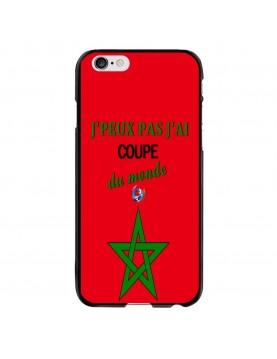 Coque-iPhone-6-6S- J'peux-pas-j'ai-coupe-du-monde-2018-Maroc