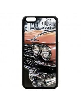 Coque souple iPhone 6/6S - Cadillac rose de Cuba