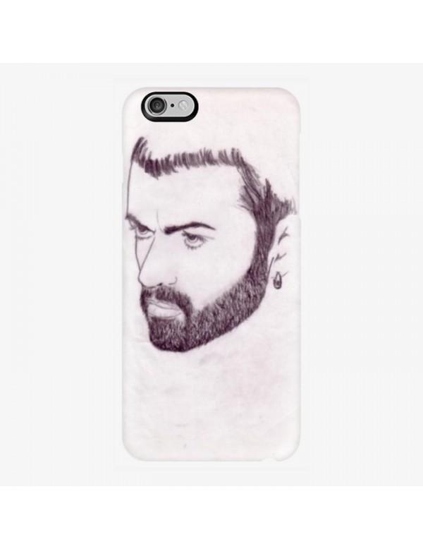 Coque rigide iPhone 6/6S - Portrait George Michael