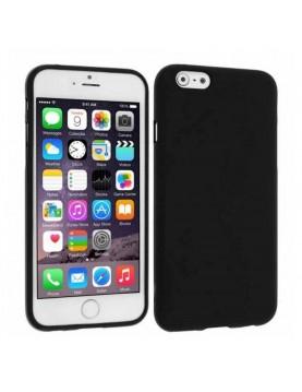 Coque en silicone souple noir pour iPhone 5/5S/SE