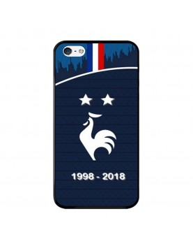 Coque-rigide-iPhone-4-4S-Football-Champion-du-monde-2018