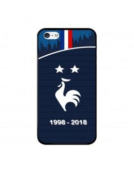 Coque rigide iPhone 4/4S - Football Champion du monde 2018
