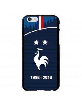 Coque rigide iPhone 6/6S - Football Champion du monde 2018