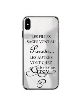 coque-rigide-iPhone-X-christian-grey-cotés-transparents