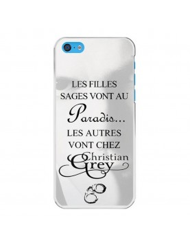 coque-rigide-iPhone-5c-christian-grey-contour-blanc
