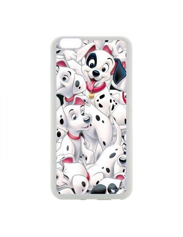 Coque souple iPhone 6/6S -  les 101 dalmatiens