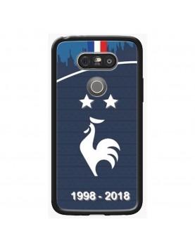 coque-LG-G5-football-champion-du-monde-2018-Domicile-Maillot-Bleu