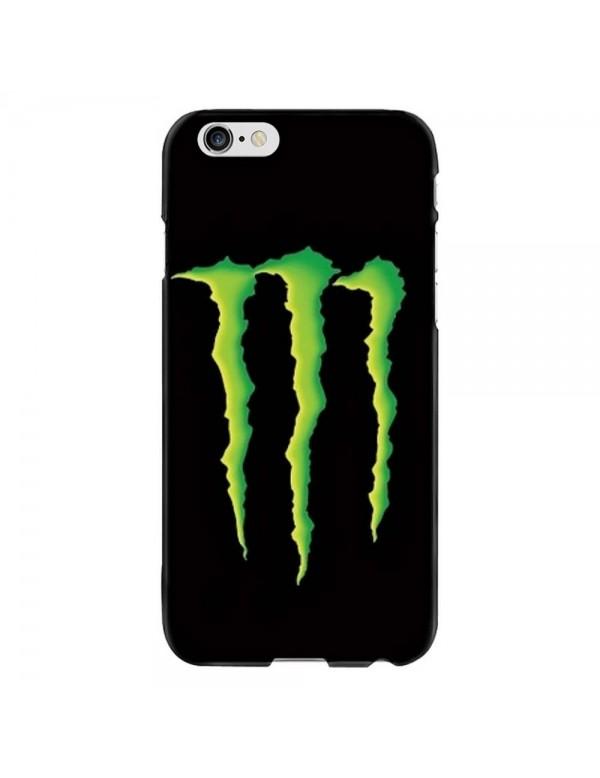 Coque anti-chocs noir pour iPhone 6/6S Griffes Monster
