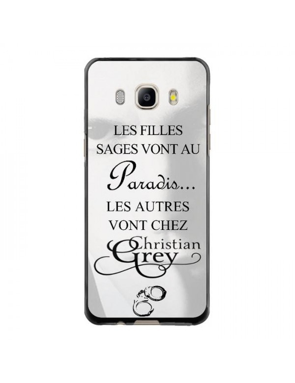 Coque rigide Samsung Galaxy J5 de 2016 - Christian Grey - Menottes
