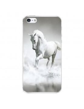 Coque-rigide-iPhone-4-4S-Cheval-Blanc-Mer