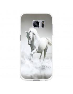 Coque-rigide-Coté-Blancs-Samsung-Galaxy-S7-Edge-Cheval-Blanc-Mer