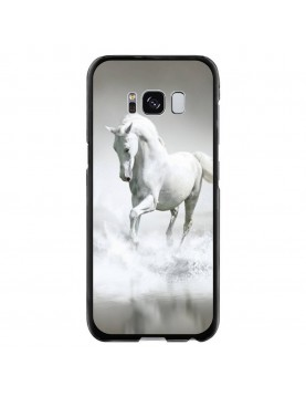 Coque-rigide-Coté-Noirs-Samsung-Galaxy-S8-PLUS-Cheval-Blanc-Mer