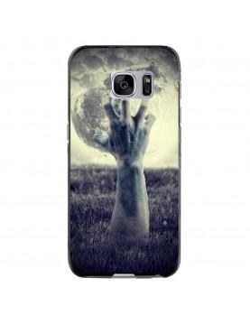 Coque-souple-Samsung-Galaxy-S6-Halloween-main-Pleine-lune