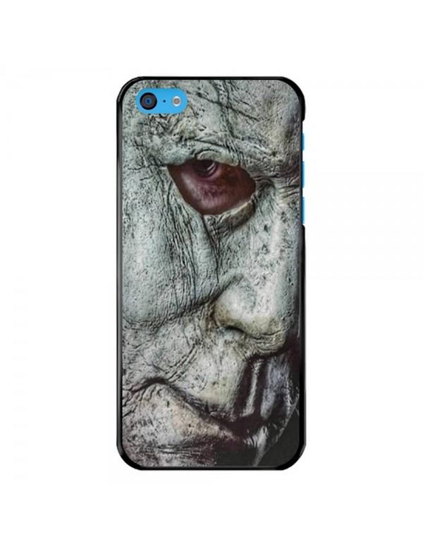Coque iPhone 5C - Visage Masque Mickael Myers Halloween