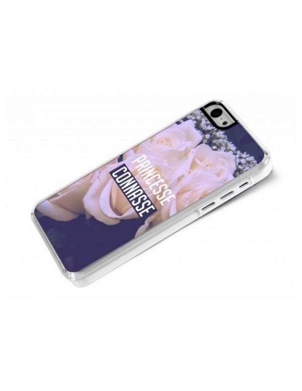 Coque iPhone 5C Princesse connasse