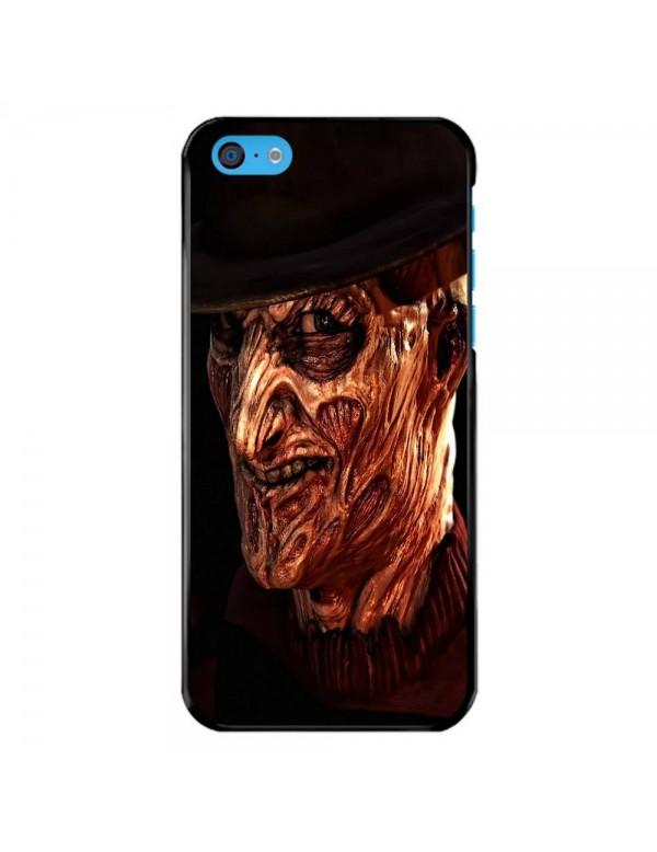 Coque iPhone 5C - Freddy Krueger des Griffes de la nuit - Collection Halloween