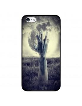 Coque-rigide-Apple-iPhone-4-4S-Halloween-main-Pleine-lune