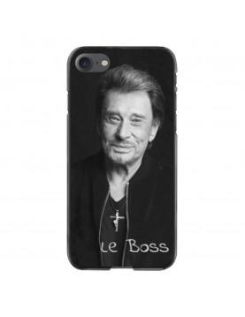 Coque-iPhone-6-6S-Souple-Noir-Johnny-Le-Boss