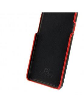Coque Mylow Design pour Samsung Galaxy Note 8 - Cuir Noir