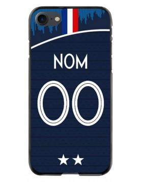 Coque personnalisable iPhone 7-8 - France coupe du monde domicile