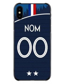 Coque coupe du monde 2018 iPhone  XS MAX personnalisable - Domicile