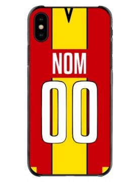 Coque football iPhone x/xs personnalisé Lens domicile