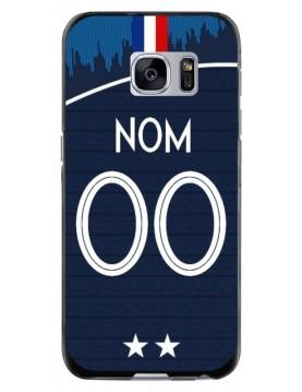 Coque coupe du monde 2018 Samsung Galaxy S7 personnalisable - Domicile