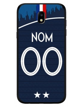 Coque coupe du monde 2018 Samsung Galaxy J7 2017 personnalisable - Domicile