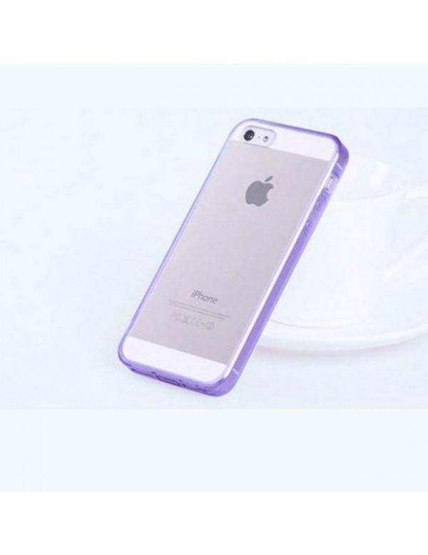 Coque iPhone 5/5S contours violet