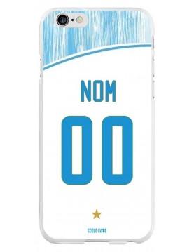 Coque Football personnalisable iPhone 6 Plus 6S Plus - Marseille OM domicile