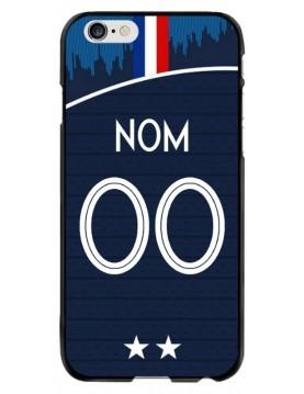Coque personnalisable iPhone 6/6S - France coupe du monde domicile