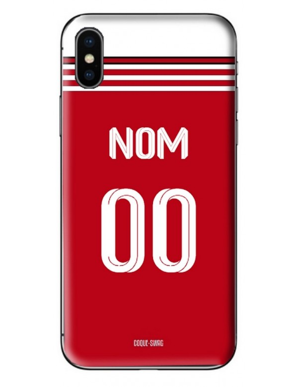 COQUE MAILLOT FOOT - ARSENAL DOMICILE 2019/2020 - PERSONNALISABLE